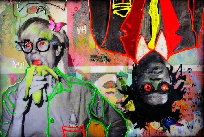 andy Warhol pop art peinture jean-michel Basquiat tableaux