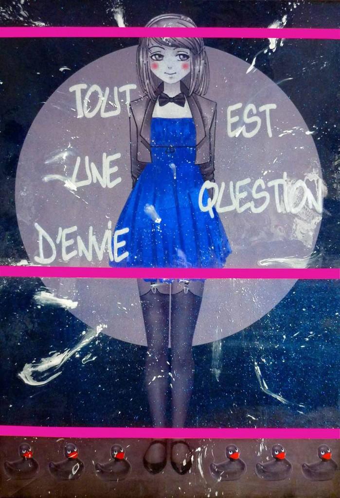 sandrine hayat peinture pop art picture tableaux décoration couleur artiste peintre oeuvre sexy toys